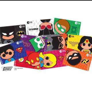 Justice League Ez-Link Card