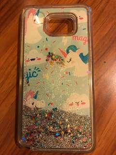 Samsung 三星note 5 流沙 case