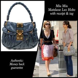 Sale! MiuMiu with receipt