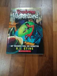 Goosebumps Horrorland My Friends Call Me Monster