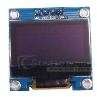"0.96"" Inch I2C IIC Serial OLED Display Module 128X64 White Light SSD1306 12864 LCD Screen for Arduino"