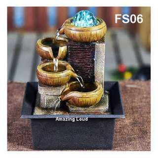 Water Fountain Feature Feng Shui Home Deco Pasu Air