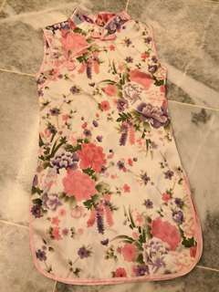 Cheongsam for 2 yrs old girl