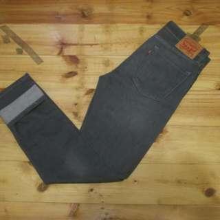 levis 510 skinny jeans dark grey original