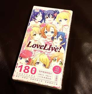 [INSTOCK] Love Live 30 Postcards with 120 mini Stickers