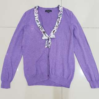 Sweater Stylish wrn Ungu