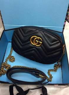 GUCCI MARMONT BELT/SLING BAG
