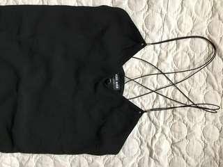 Black Sexy Back Dress Large