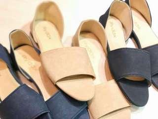 Rydax open toe flats