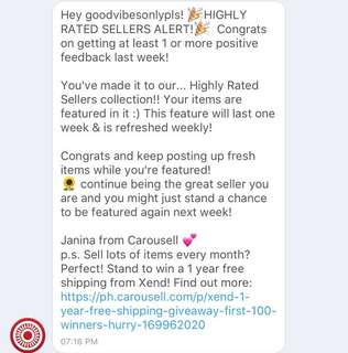 Thank you Carousell 👍🙏