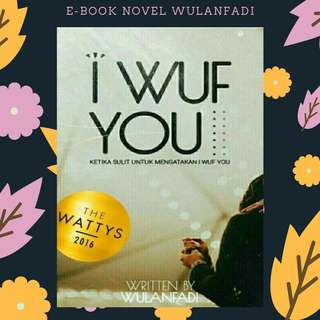 EBOOK PDF NOVEL I WUF YOU