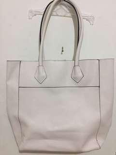 Forever21 white shoulder bag