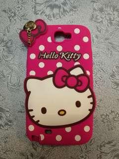 Hello Kitty samsung 手機殼 軟膠 粉紅