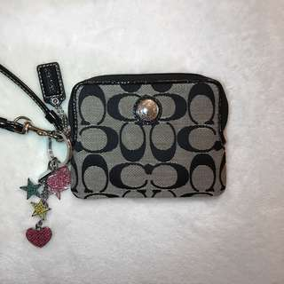 COACH Wristlet and Keychain