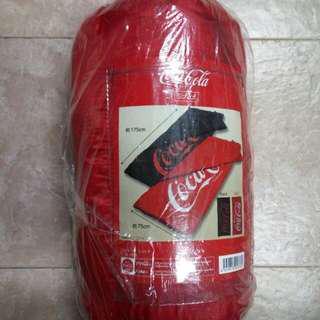 可口可樂單人睡袋(日本版兩色)
