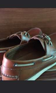 FREE SHIPPING Topsider Inspired Gibi Leather