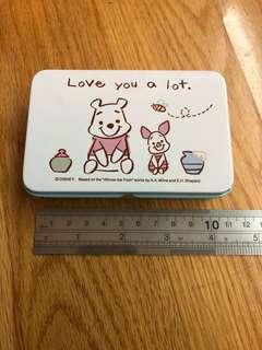 Winnie the Pooh & Piglet tin box 鐵盒仔