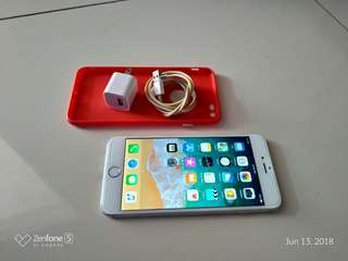 Iphone 6 plus silver 16GB Smartlocked very smooth NTC unit