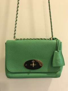 Mulberry Lily Small in Jungle Green