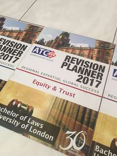 ATC Equity & Trust Revision Planner 2017