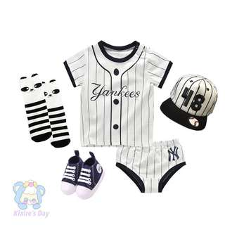 Yankees Trend Fashion Baby Jersey Set #babydivision