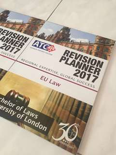ATC EU Law Revision Planner 2017