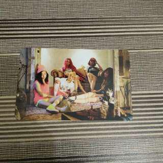 Photocard Fx / F(x) Group Pink Tape Album