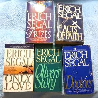 Erich Segal Books Bundle (5 pcs)
