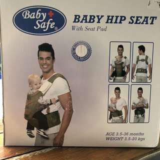 Baby safe hip seat with seat pad MURAHHHH