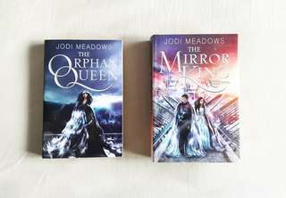 INSTOCK THE ORPHAN QUEEN DUOLOGY by Jodi Meadows