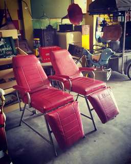 Vintage Saloon Chairs