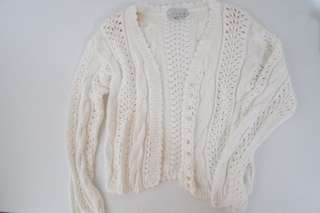 Style New York White Knitted Sweater