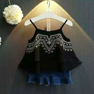 Baby Girl Black Top