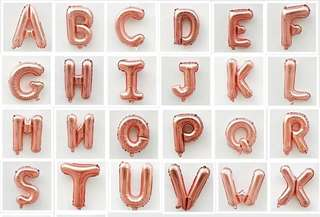 16Inch alphabet/number 1pcs rm5