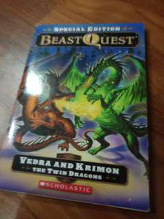 Beast Quest Vedra and Krimon Twin Dragons SPECIAL EDITION