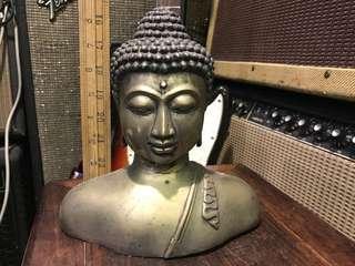 舊銅制佛像擺設