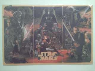 Star Wars 3D poster