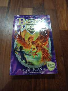 Beast Quest Spiros The Ghost Phoenix SPECIAL BUMPER EDITION!