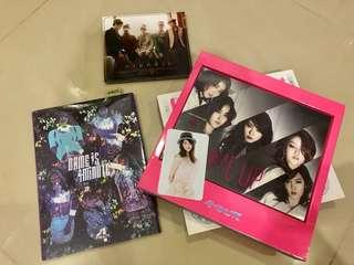 [CLEARANCE] 4minute & TVXQ ALBUM