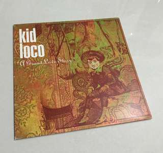 Kid Loco - A Grand Love Story Record LP