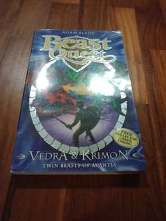 NEW Beast Quest Normal Edition Vedra And Krimon