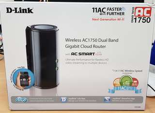 Dlink DIR-868L Wireless AC1750 dual BAND gigabit Cloud Router