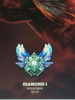 League Of Legend Diamond account