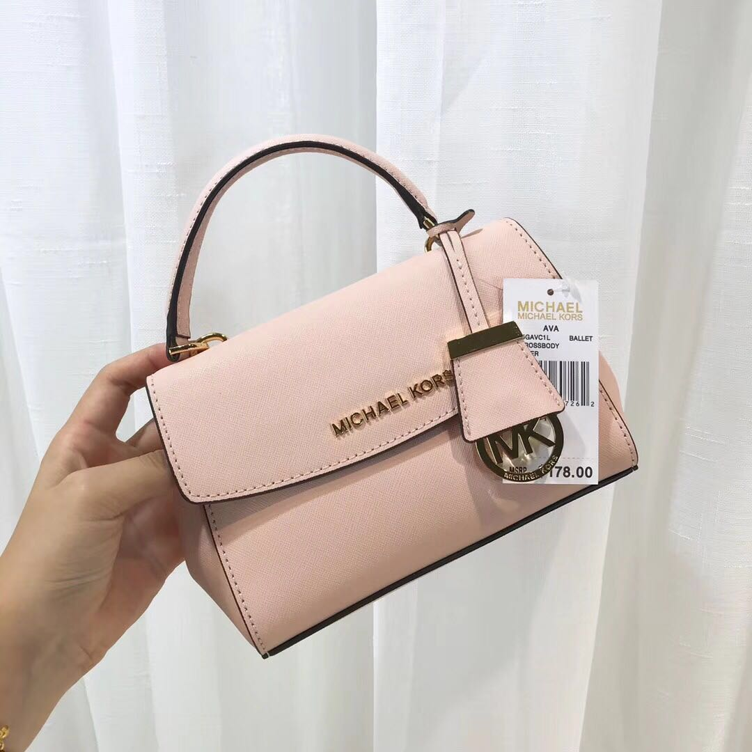a516cf680e79 💯 Authentic Michael Kors MK Ava Mini ( Extra Small ) Saffiano ...