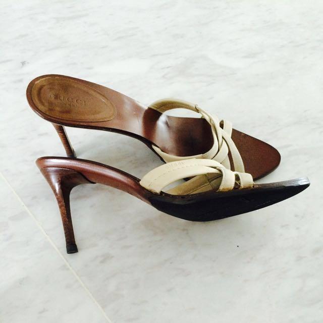 61f1120225a1 👍👍👍 GUCCI Leather Slides