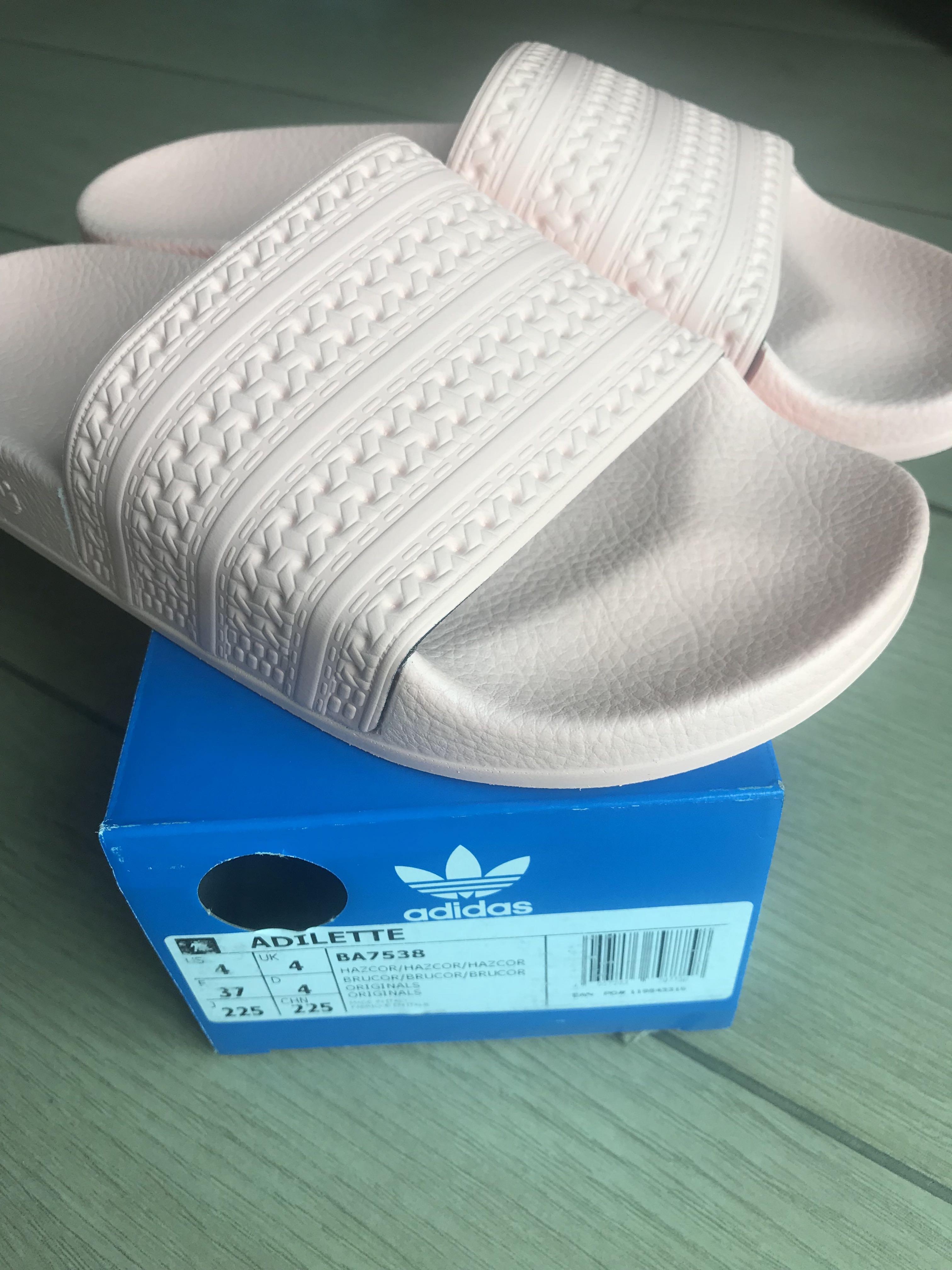 1c3609fb9d06 Adidas Adilette slides in coral haze