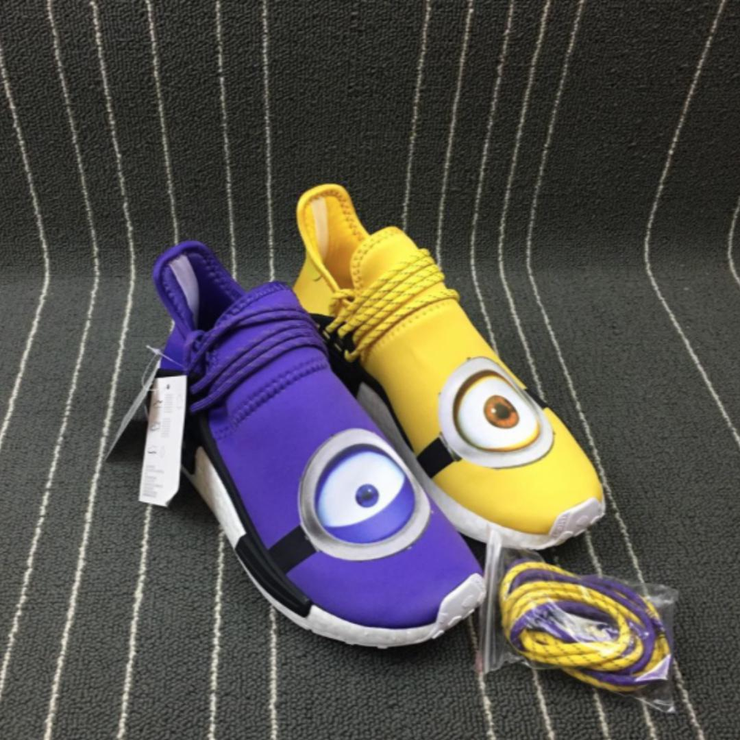 new products 7dace 1ccae Adidas NMD Pharrell Williams Shoe Custom Design Minions ...