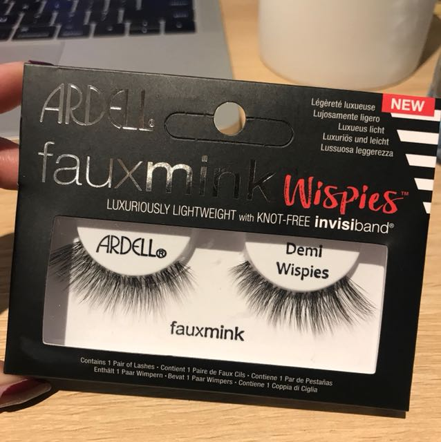 4ca17cfab75 ardell faux mink demi wispies, Health & Beauty, Makeup on Carousell