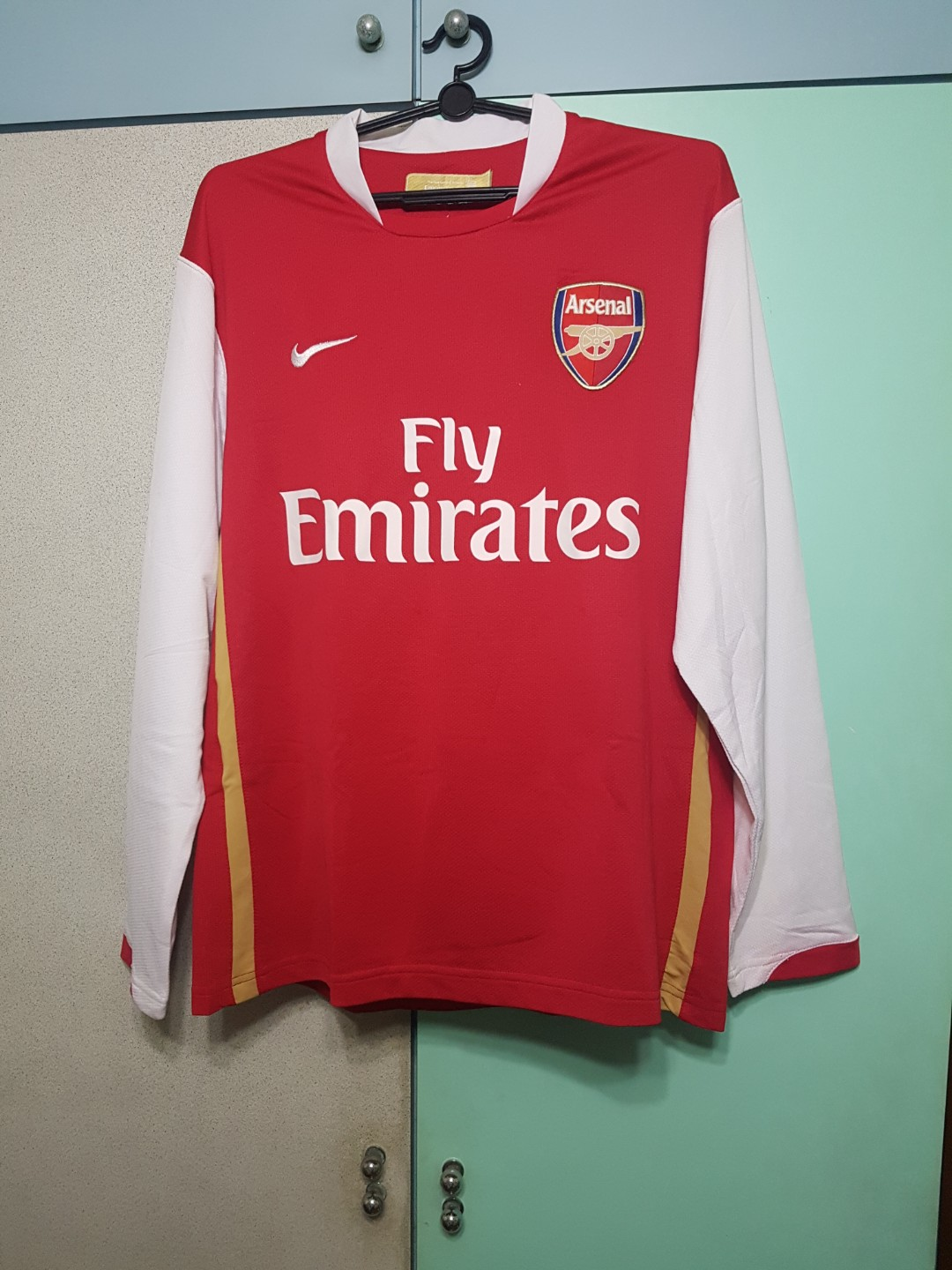 7ffdb3e1873 Arsenal Nike Long Sleeve Jersey