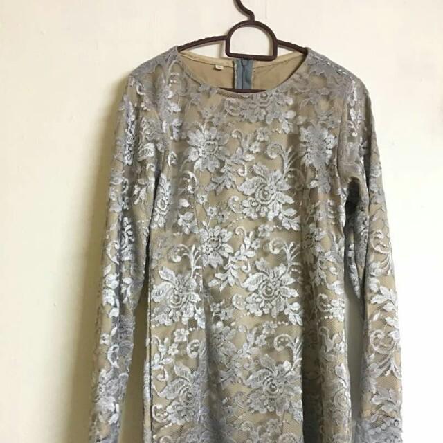 Baju Kurung Lace Raya